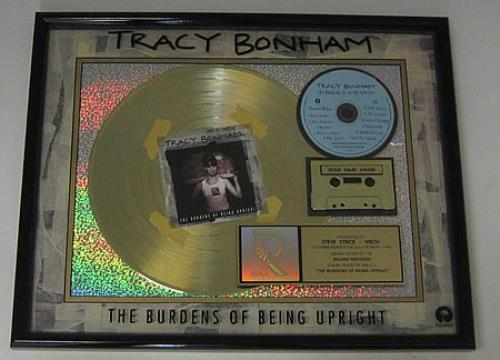 Tracy Bonham The Burdens Of Being Upright award disc US TBHAWTH154728