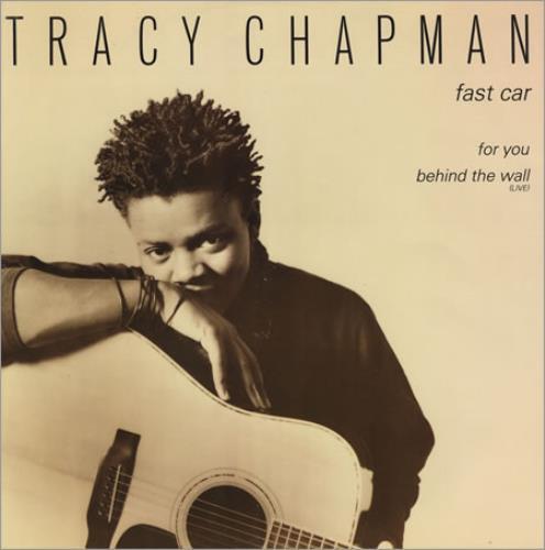 """Tracy Chapman Fast Car 12"""" vinyl single (12 inch record / Maxi-single) UK TRA12FA41400"""