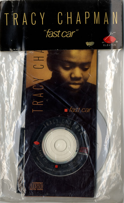 Tracy Chapman Fast Car US Promo CD Single CD - Fast car artist