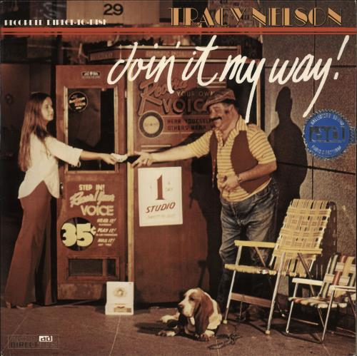 Tracy Nelson Doin' It My Way! - Direct To Disk vinyl LP album (LP record) US WRBLPDO717821