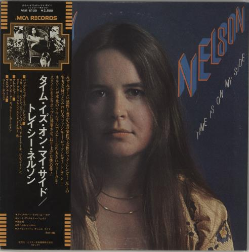 Tracy Nelson Time Is On My Side - White Label + Obi vinyl LP album (LP record) Japanese WRBLPTI679016