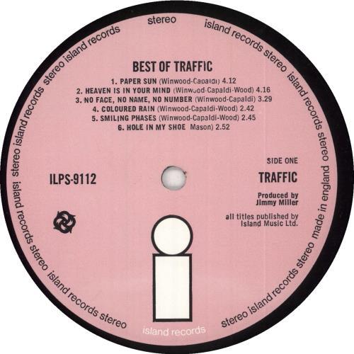 Traffic Best Of Traffic - 1st - VG/EX vinyl LP album (LP record) UK TRFLPBE739110