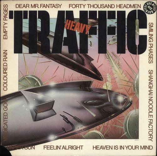 Traffic Heavy Traffic vinyl LP album (LP record) US TRFLPHE707353