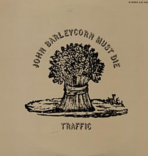 Traffic John Barleycorn Must Die vinyl LP album (LP record) Japanese TRFLPJO229087