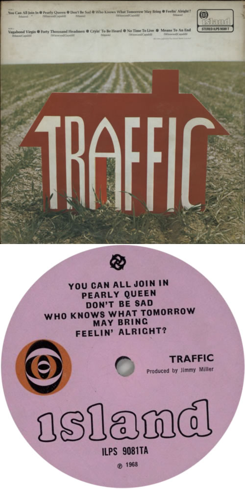 Traffic Traffic - 1st + booklet - VG vinyl LP album (LP record) UK TRFLPTR603350