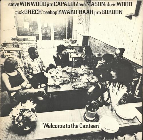 Traffic Welcome To The Canteen vinyl LP album (LP record) German TRFLPWE734162