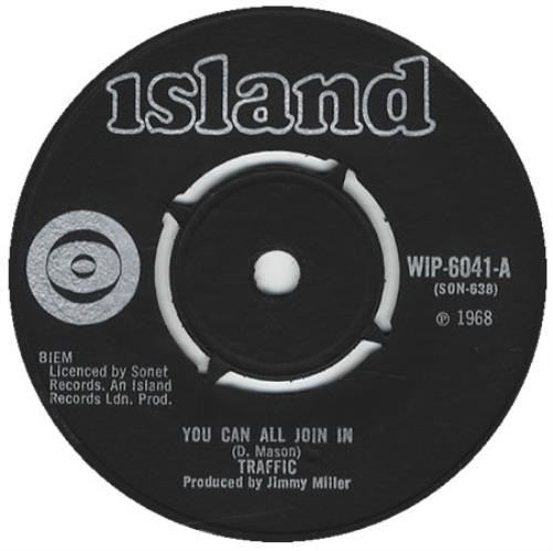 """Traffic You Can All Join In - Export Issue 7"""" vinyl single (7 inch record) UK TRF07YO415158"""