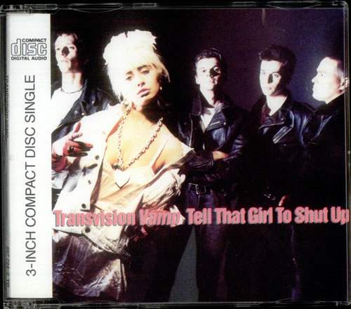 Transvision Vamp Tell That Girl To Shut Up German 3 Cd Single Cd3 32135