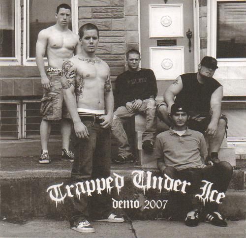 "Trapped Under Ice Demo 2007 7"" vinyl single (7 inch record) US XXC07DE656161"