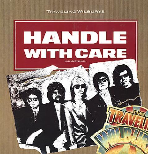 "Traveling Wilburys Handle With Care 12"" vinyl single (12 inch record / Maxi-single) German TRV12HA287439"