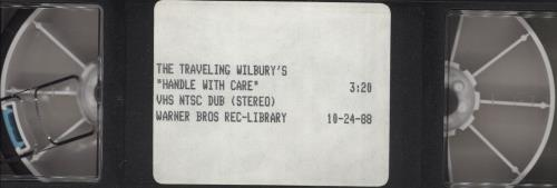 Traveling Wilburys Handle With Care video (VHS or PAL or NTSC) US TRVVIPR290571