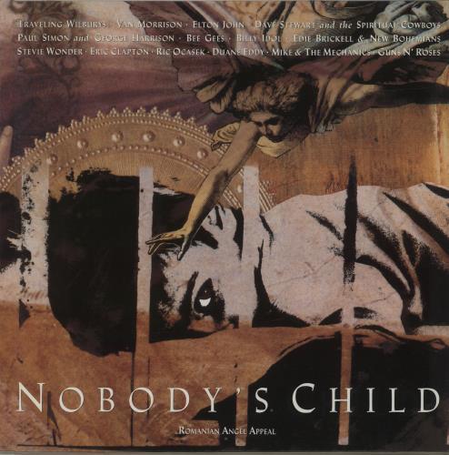 Traveling Wilburys Nobody's Child - Romanian Angel Appeal vinyl LP album (LP record) UK TRVLPNO550072