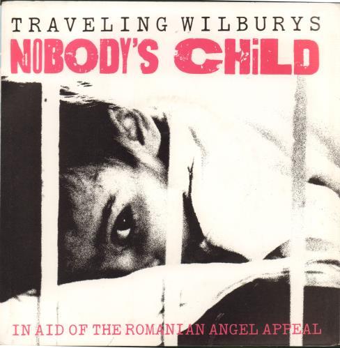 """Traveling Wilburys Nobody's Child 7"""" vinyl single (7 inch record) Australian TRV07NO73854"""