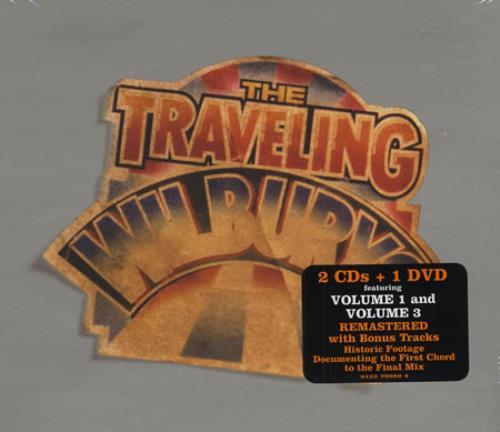 Traveling Wilburys The Traveling Wilburys Collection - Sealed 3-disc CD/DVD Set UK TRV3DTH402493