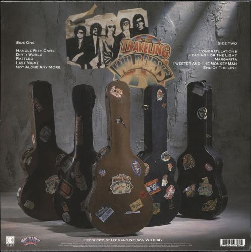Traveling Wilburys Traveling Wilburys Vol. 1 - Sealed picture disc LP (vinyl picture disc album) UK TRVPDTR707396