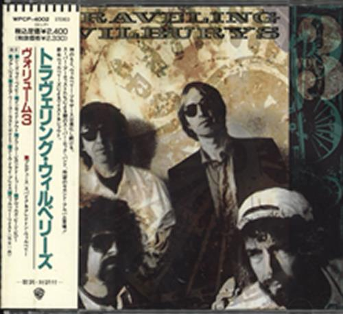 Traveling Wilburys Volume 3 CD album (CDLP) Japanese TRVCDVO309394
