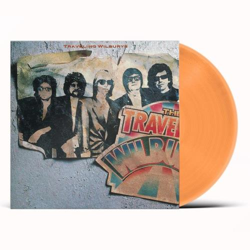 Traveling Wilburys Volume One - Orange Vinyl - Sealed vinyl LP album (LP record) UK TRVLPVO753567