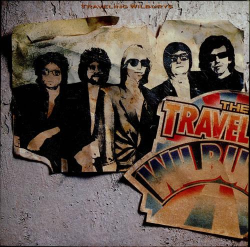Traveling Wilburys Volume One vinyl LP album (LP record) UK TRVLPVO60515