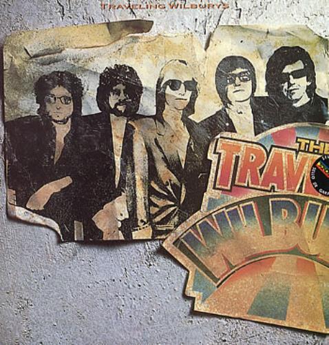 Traveling Wilburys Volumen 1 vinyl LP album (LP record) Venezuelan TRVLPVO111795