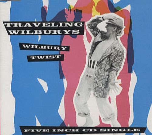 """Traveling Wilburys Wilbury Twist CD single (CD5 / 5"""") German TRVC5WI304121"""