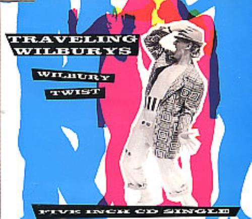"""Traveling Wilburys Wilbury Twist CD single (CD5 / 5"""") UK TRVC5WI33322"""