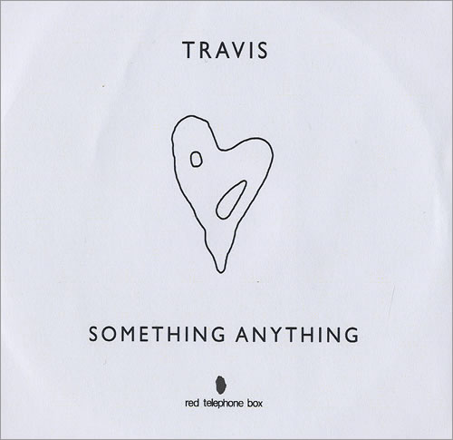 Travis (90s) Something Anything CD-R acetate UK RVSCRSO468227