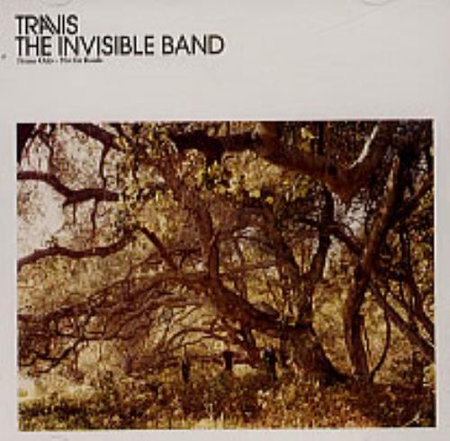 Travis (90s) The Invisible Band CD album (CDLP) UK RVSCDTH184137