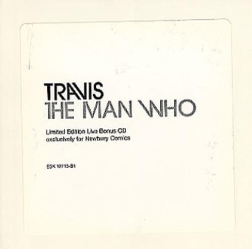 "Travis (90s) The Man Who - Live Bonus CD CD single (CD5 / 5"") UK RVSC5TH347341"