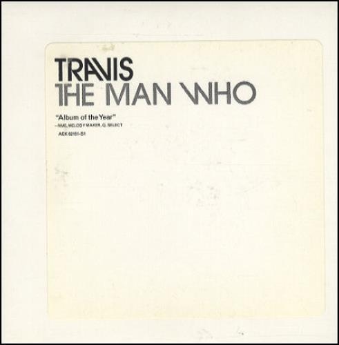 Travis (90s) The Man Who CD album (CDLP) US RVSCDTH154525