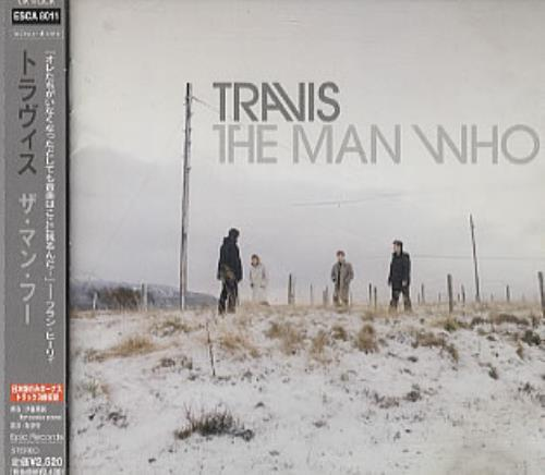 Travis (90s) The Man Who CD album (CDLP) Japanese RVSCDTH172062