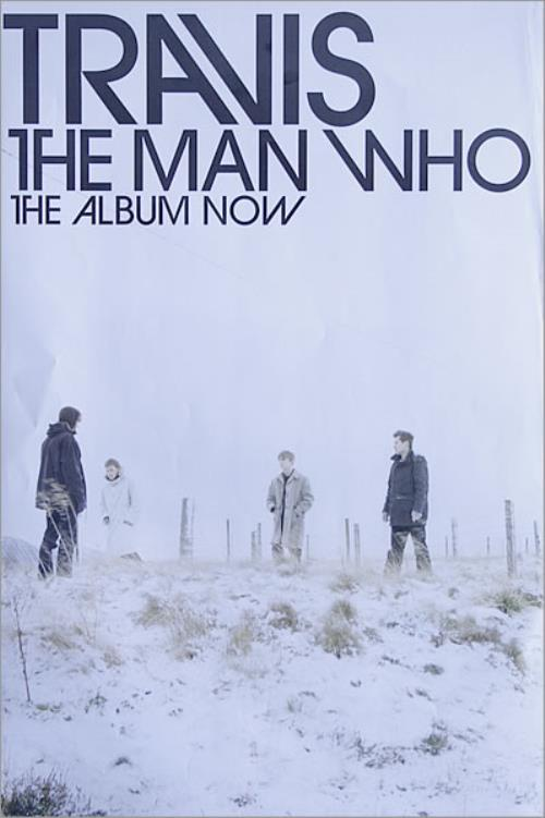 Travis (90s) The Man Who poster UK RVSPOTH527890