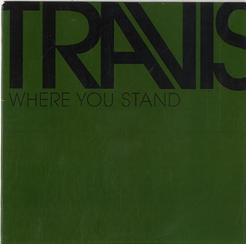 "Travis (90s) Where You Stand CD single (CD5 / 5"") UK RVSC5WH588116"