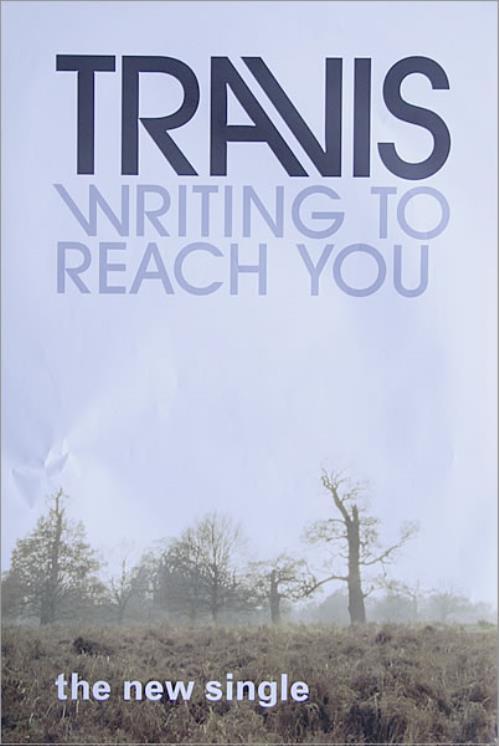 Travis (90s) Writing To Reach You poster UK RVSPOWR527888