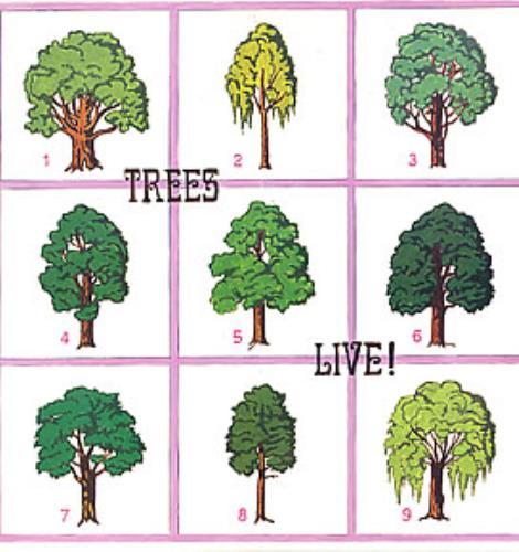 Trees Live! vinyl LP album (LP record) Italian T.SLPLI262042