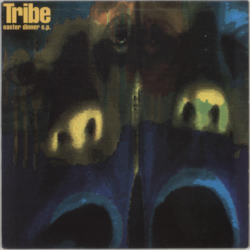 "Tribe Easter Dinner EP 12"" vinyl single (12 inch record / Maxi-single) UK 07I12EA747649"