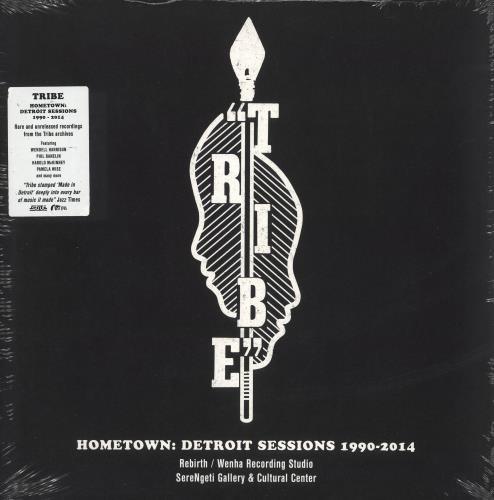 Tribe Hometown: Detroit Sessions 1990-2014 - Sealed 2-LP vinyl record set (Double Album) UK 07I2LHO741494