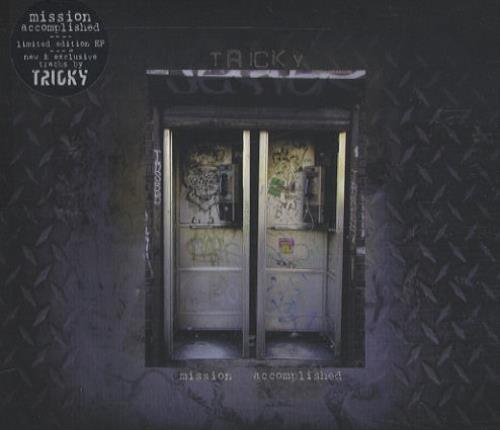 """Tricky Mission Accomplished CD single (CD5 / 5"""") UK TRKC5MI169998"""