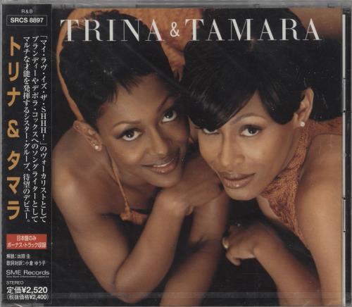 Trina & Tamara Trina & Tamara - Sealed CD album (CDLP) Japanese Y3JCDTR723326