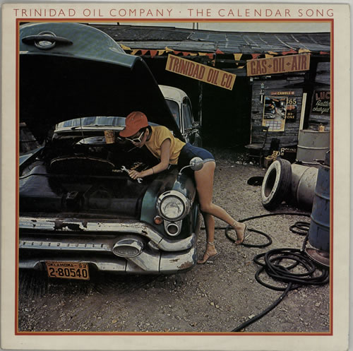 Trinidad Oil Company The Calendar Song UK vinyl LP album (LP