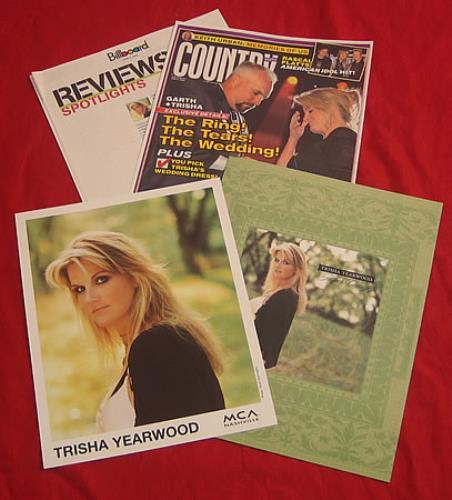 Trisha Yearwood Jasper Country media press pack US TSYPPJA407926