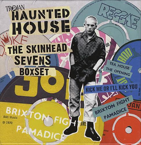 Trojan Records Haunted House The Skinhead Reggae Boxset