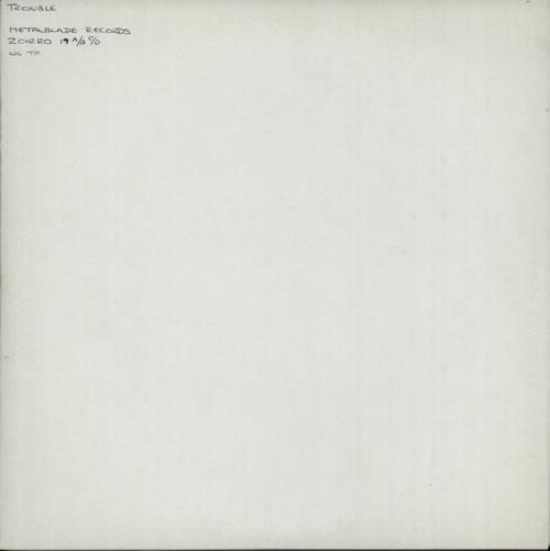 Trouble (Rock) Psalm 9 / The Skull - Test Pressing 2-LP vinyl record set (Double Album) UK UR62LPS603644