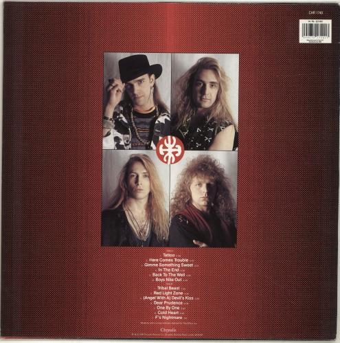Trouble Tribe Something Sweet vinyl LP album (LP record) German YZOLPSO701100