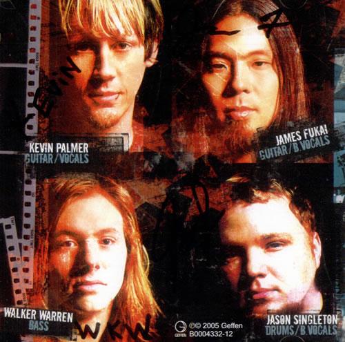 Trust Company True Parallels - Autographed CD album (CDLP) US TUYCDTR504720