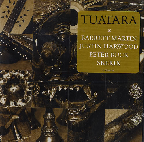 Tuatara Breaking The Ethers CD album (CDLP) US TK-CDBR479641