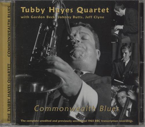 Tubby Hayes Commonwealth Blues CD album (CDLP) US TH-CDCO751789