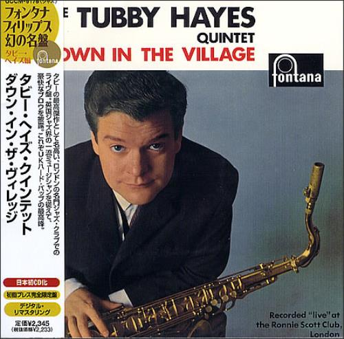 Tubby Hayes Down In The Village CD album (CDLP) Japanese TH-CDDO365519