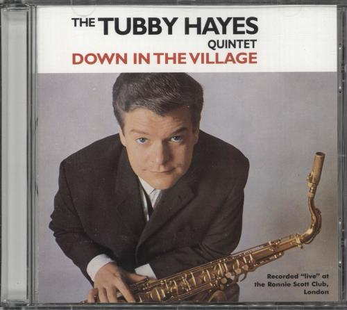 Tubby Hayes Down In The Village CD album (CDLP) German TH-CDDO741994