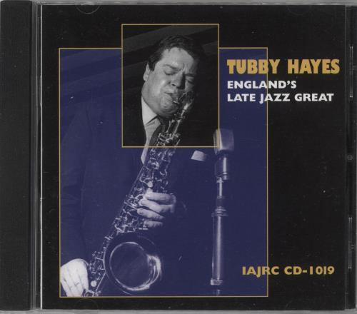 Tubby Hayes England's Late Jazz Great CD album (CDLP) Canadian TH-CDEN742000