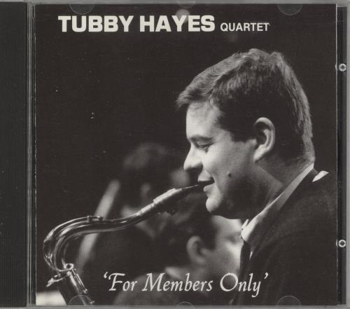 Tubby Hayes For Members Only CD album (CDLP) Swiss TH-CDFO741997